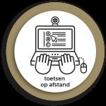 Werkgroep Digitaal toetsen op afstand logo diap